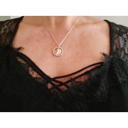 Pendentif Swarovski perle...